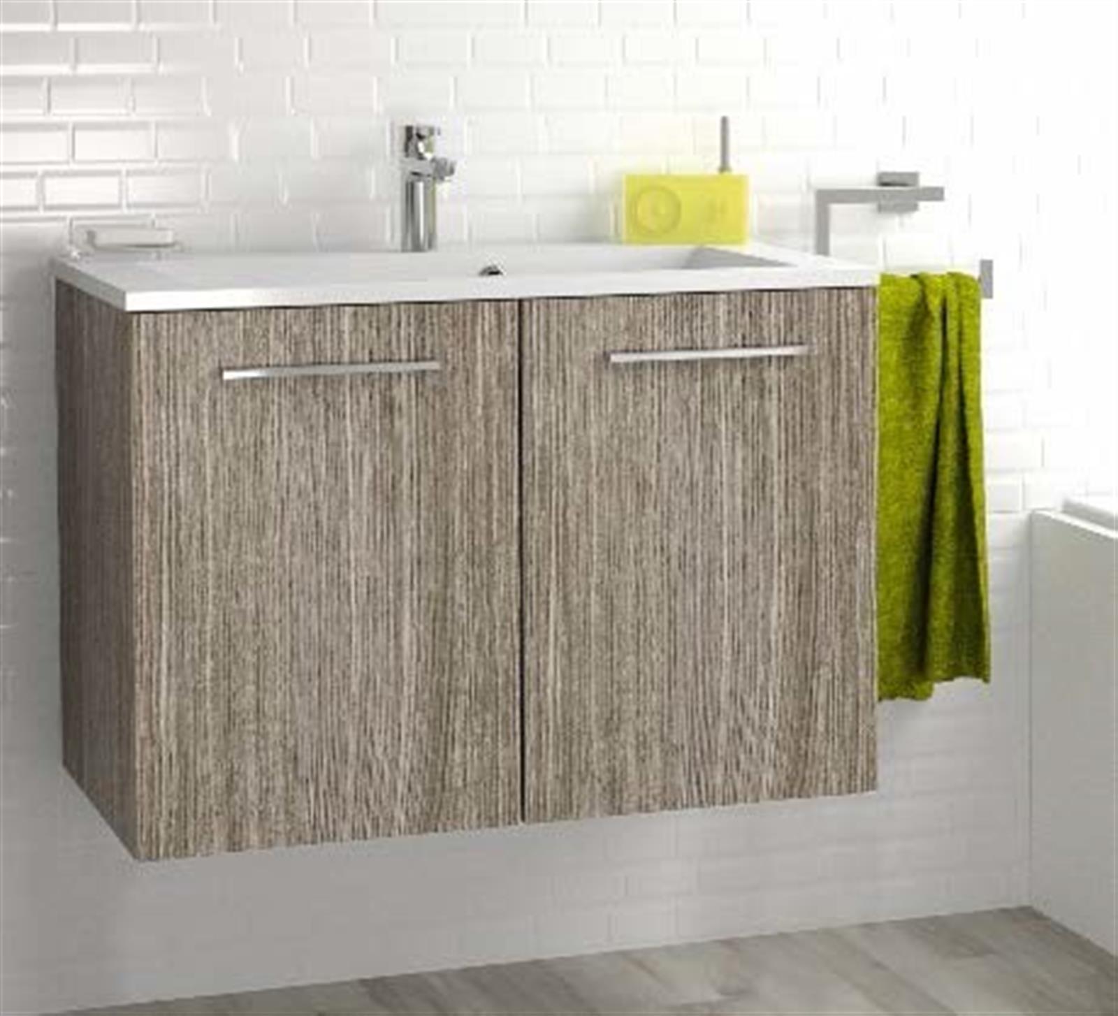 Meuble sous vasque 2 portes 80 cm s rie adesio 3 - Vide sanitaire meuble cuisine ...