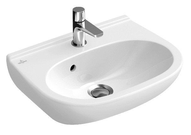 Lave mains o novo dimensions 50 x 40 cm couleur blanc r f 53605001 batipass - Baignoire volta villeroy et boch ...