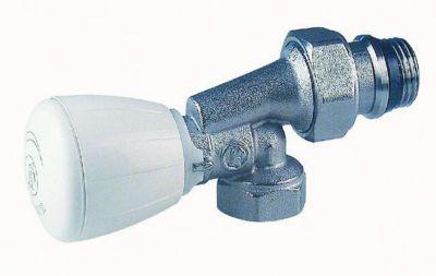 R435tg robinet querre invers e s rie fer giacomini - Robinet thermostatique equerre inversee ...