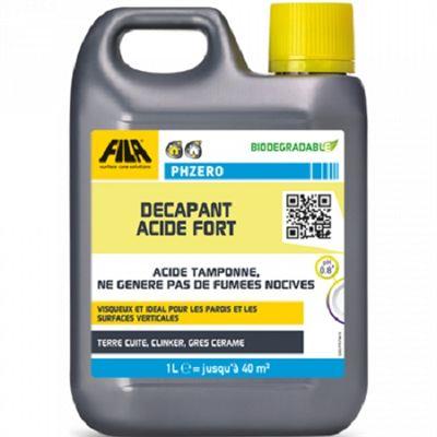 Dcapant acide fort filaphzero fila for Produit nettoyage carrelage