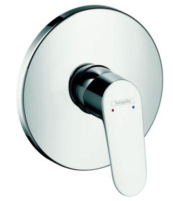 Plaque de finition pour mitigeur douche encastr focus e2 hansgrohe - Rosace pour mitigeur douche ...