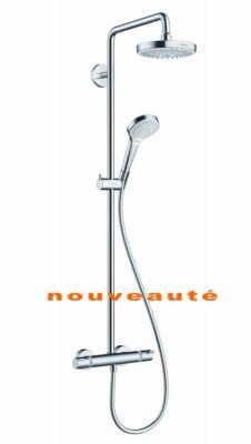 colonne de douche showerpipe croma select s 180 hansgrohe. Black Bedroom Furniture Sets. Home Design Ideas