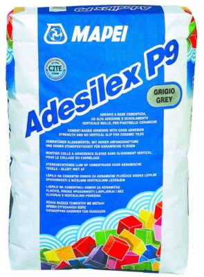 Mortier colle pour carrelage c2 adesilex p9 mapei for Colle souple pour carrelage