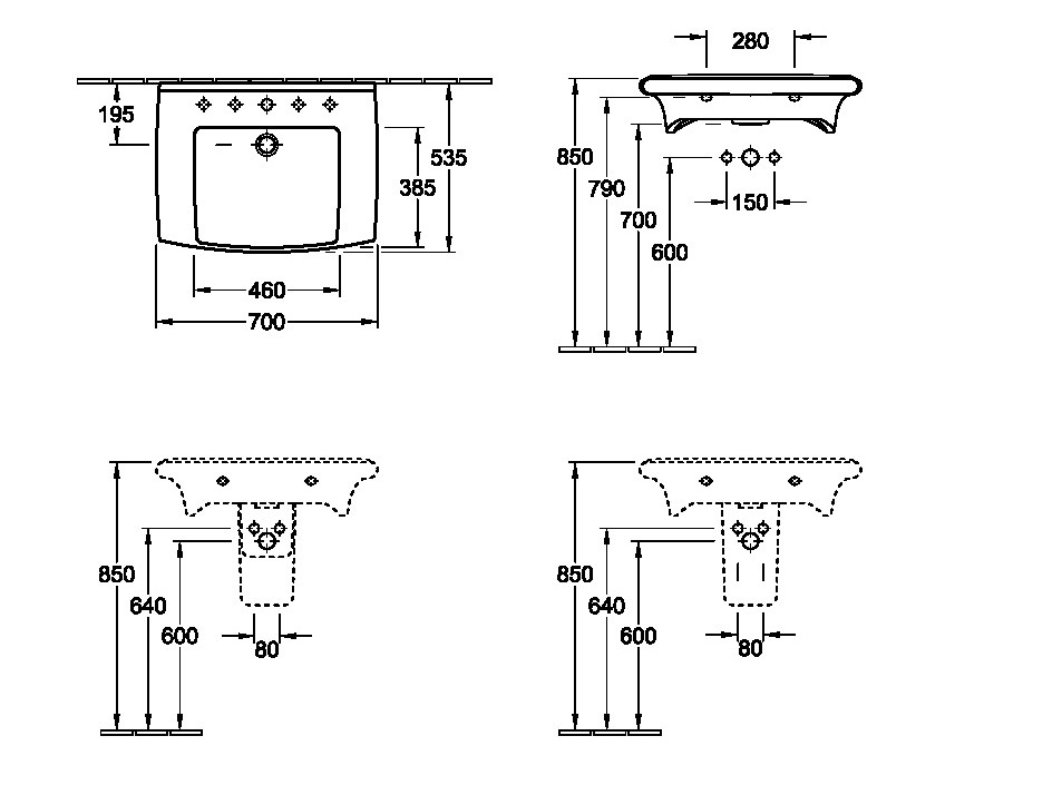 lavabo lifetime villeroy et boch. Black Bedroom Furniture Sets. Home Design Ideas