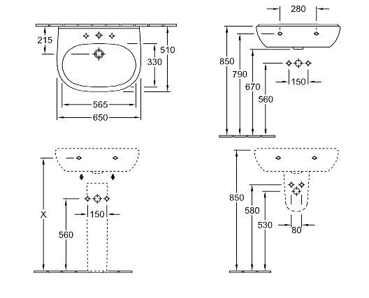 lavabo o novo villeroy et boch. Black Bedroom Furniture Sets. Home Design Ideas