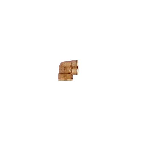 Coude laiton - Femelle (L90) - Filetage 40/49