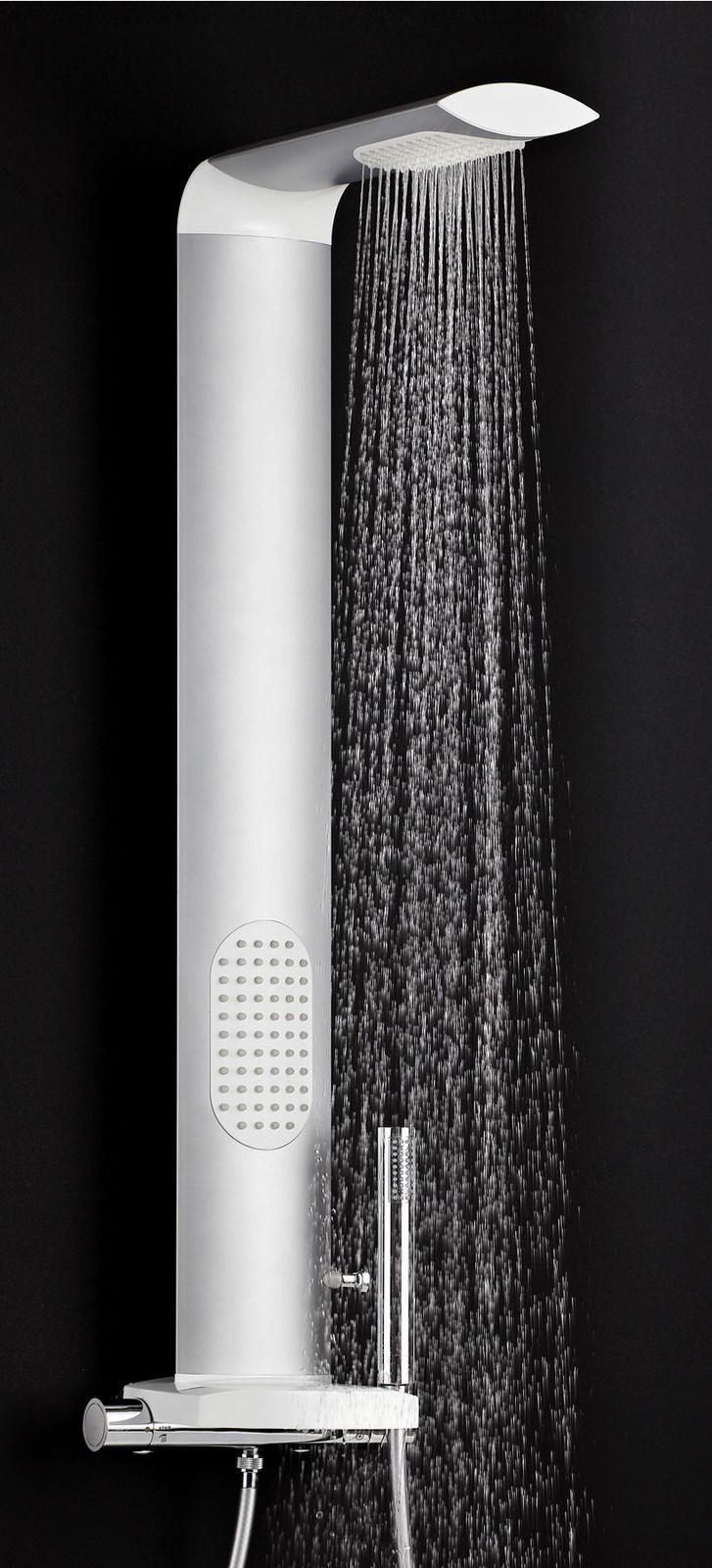 Colonne de douche ISME - Aluminium anodisé