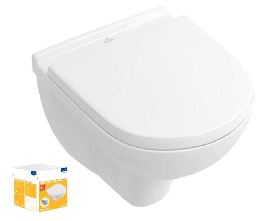 Combi Pack O.NOVO Direct Flush COMPACT - Couleur : BLANC