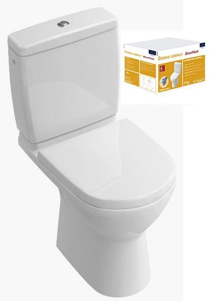 Combi Pack O.NOVO Compact Direct Flush - Couleur : BLANC