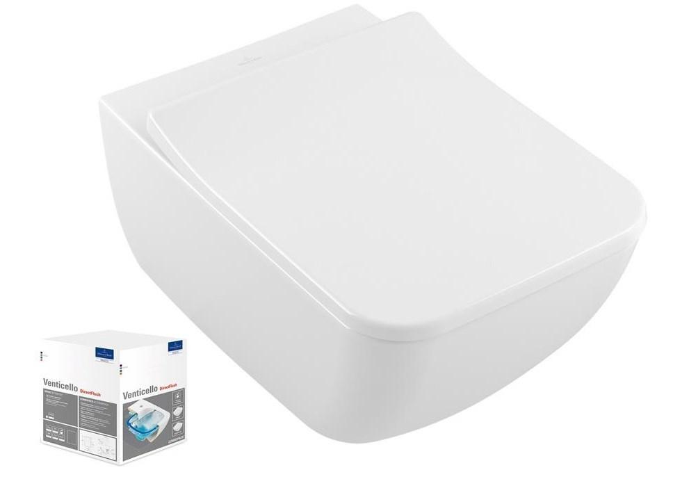 Combi Pack VENTICELLO VERITY Line Direct Flush - Couleur : BLANC