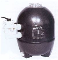 JETLY Ensemble compl�t de filtration (filtre + vanne + kit raccordement + manom�tre) s�rie BAHIA
