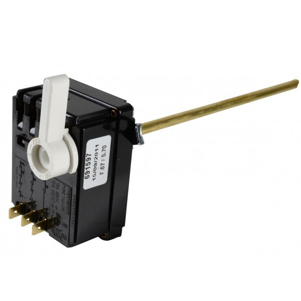 Photo de l'article DIFF Thermostat TAS TF 450 monté verticalement (levier blanc)