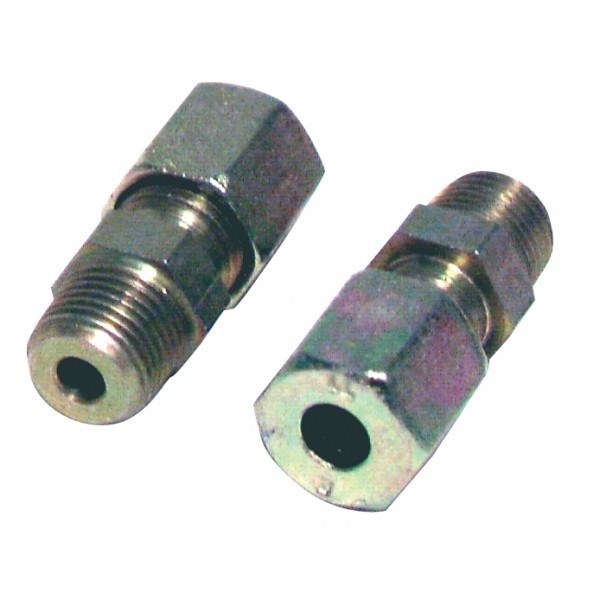 Photo de l'article DIFF Raccord à bague M1/8 - tube 6mm (2pcs)