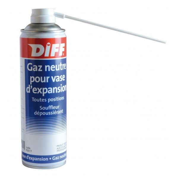Photo de l'article DIFF Gaz neutre aérosol 650 ml - 250ml/net