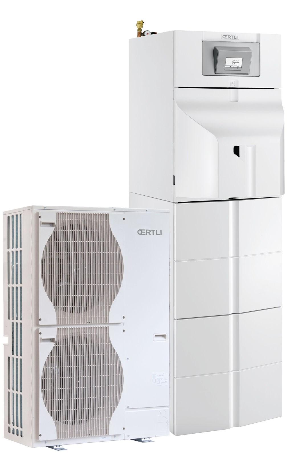 Pompe Chaleur Air Eau Oecoil Hybrid Hybride Fioul
