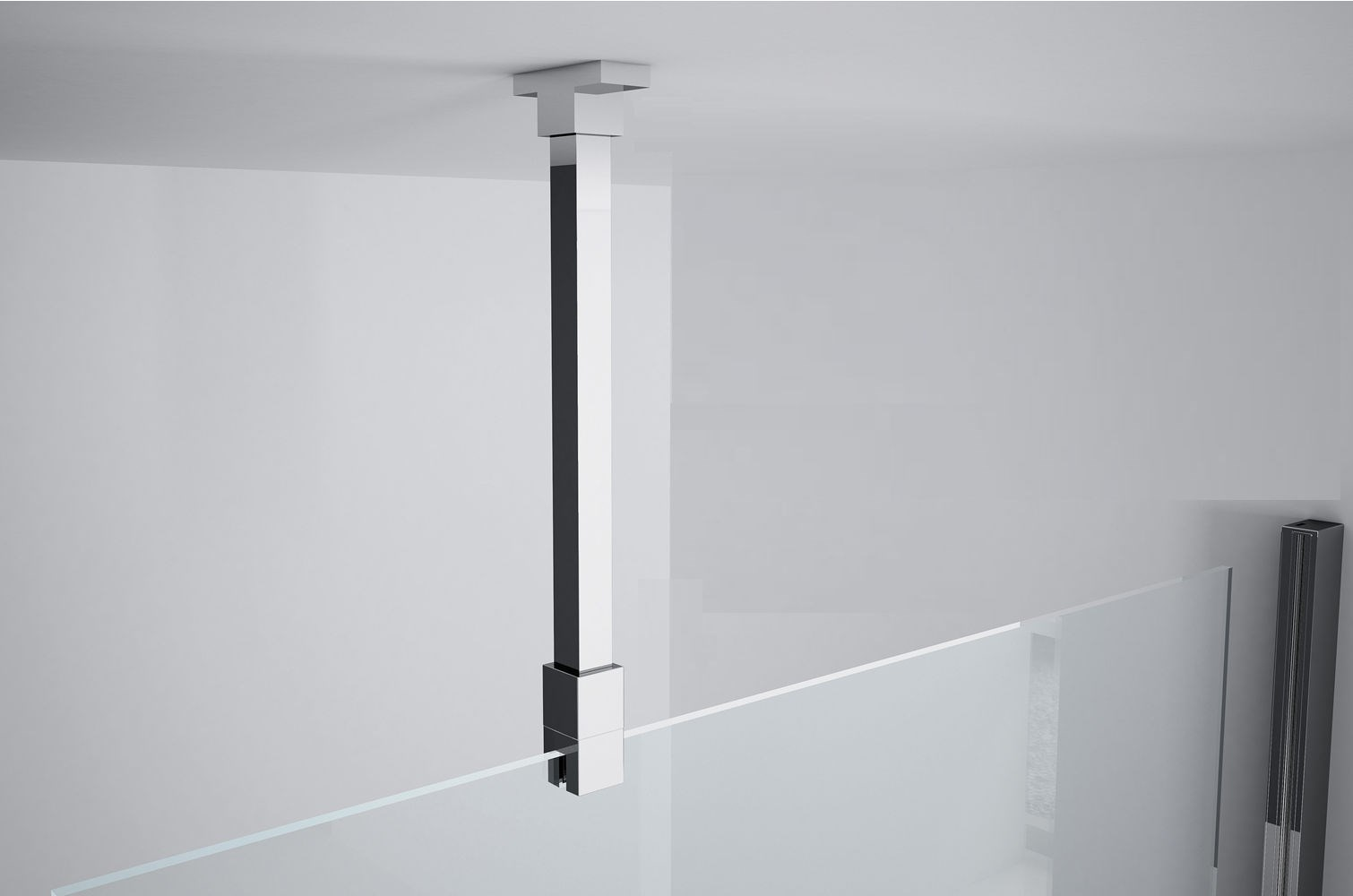 kit fixation baignoire Photo de lu0027article NOVELLINI Kit de fixation plafond pour paroi de verre 6  et