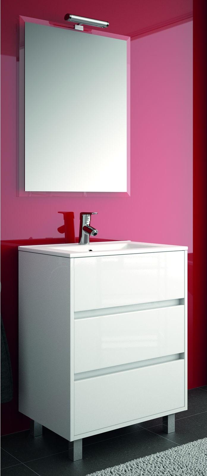 meuble salle de bain rouge pas cher. Black Bedroom Furniture Sets. Home Design Ideas