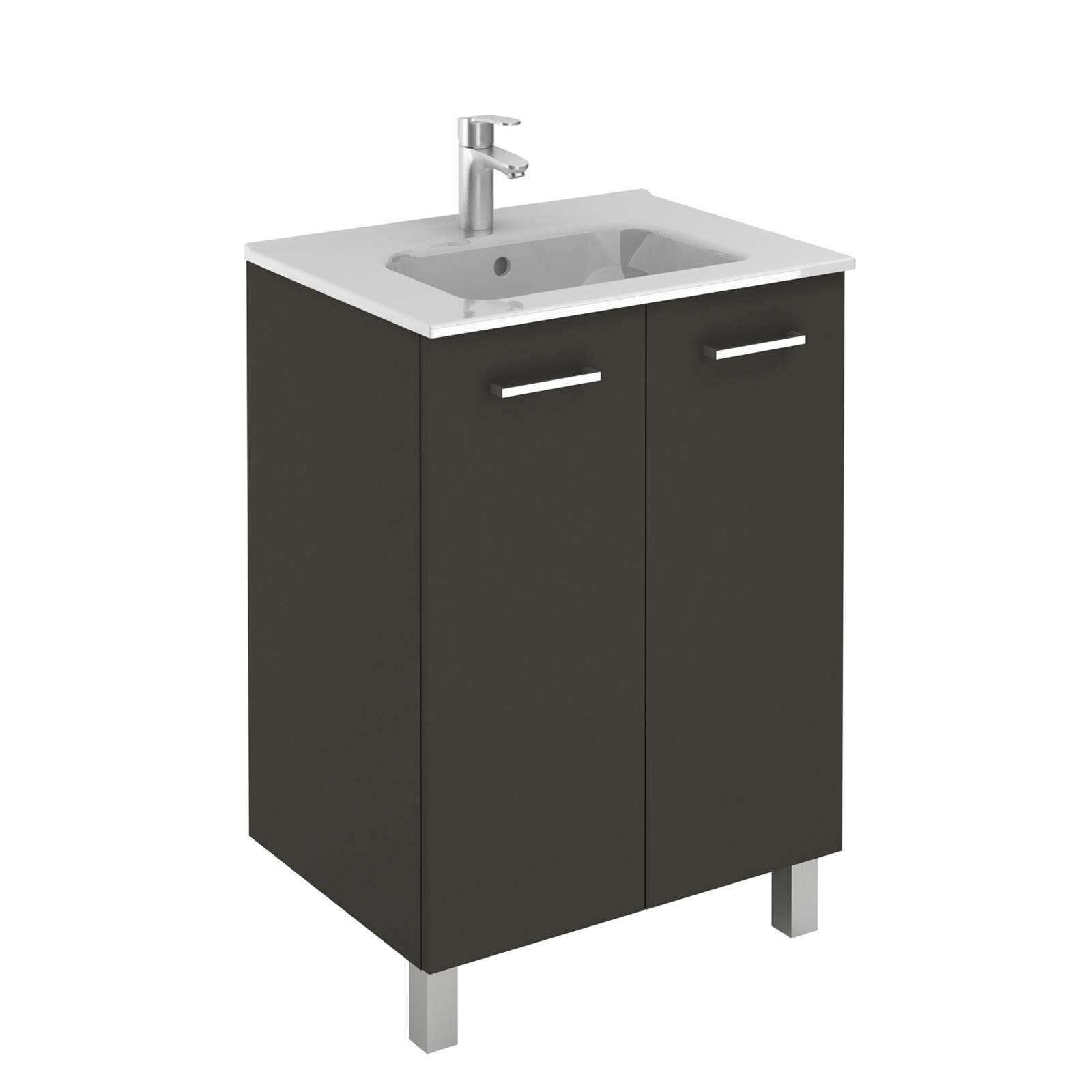 sanitaire: meubles salle de bains - Meuble Salle De Bain Profondeur 60 Cm