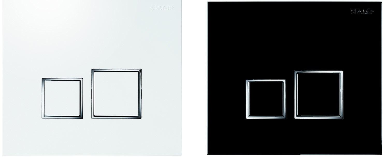 siamp plaque de commande m canisme chasse d 39 eau wc. Black Bedroom Furniture Sets. Home Design Ideas