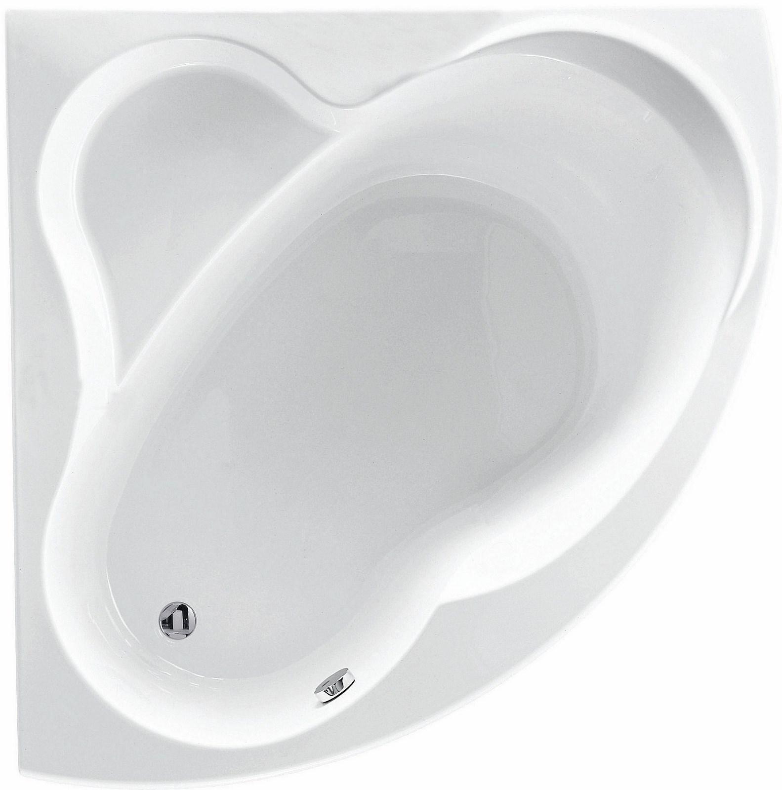Ensemble baignoire d 39 39 angle acrylique una blues sanitaire for Sanitaire baignoire