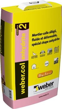 WEBER Mortier-colle pour carrelage (C2 Anhydrite) WEBER.COL ANHYDRITE 2