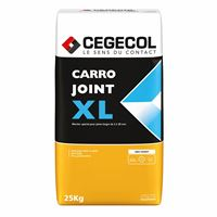 CEGECOL Mortier de jointement pour joints larges CARROJOINT XL