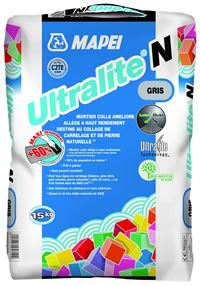 MAPEI Mortier-colle all�g� am�lior� (C2 ET) ULTRALITE N