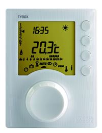 Photo de l'article DELTA DORE Thermostat programmable filaire 1 zone TYBOX