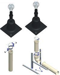 chauffage evacuation condensation chemine. Black Bedroom Furniture Sets. Home Design Ideas