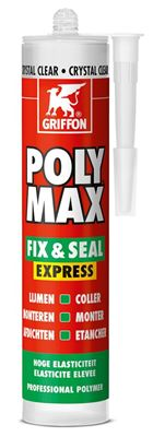 Photo de l'article GRIFFON Colle de montage et mastic d'étanchéité POLY MAX FIX - SEAL EXPRESS