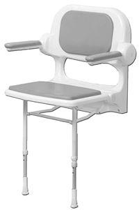 sanitaire tabouret siege de douche. Black Bedroom Furniture Sets. Home Design Ideas