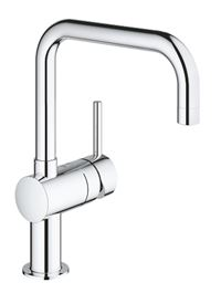 Photo de l'article GROHE Mitigeur �vier MINTA avec bec U