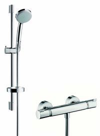 Photo de l'article HANSGROHE Colonne de douche Combi Croma 100 VARIO / ECOSTAT COMFORT
