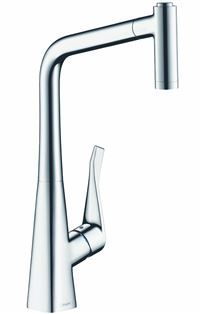 Photo de l'article HANSGROHE Mitigeur �vier METRIS avec douchette extractible