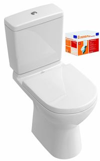 VILLEROY ET BOCH Combi Pack O.NOVO Direct Flush