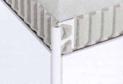 Profile Aluminium Quart De Rond Pour Revetement Muraux Rondec A Schluter