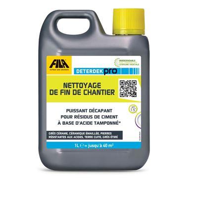 Dcapant acide deterdek fila for Nettoyage carrelage acide chloridrique