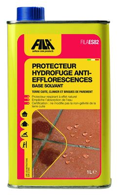 Photo de l'article FILA Protecteur hydrofuge anti-efflorescences à base de solvant FILA ES/82