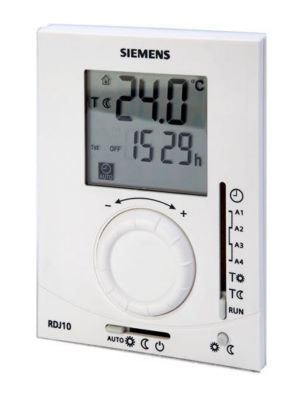 thermostat d 39 39 ambiance programmable journalier rdj siemens. Black Bedroom Furniture Sets. Home Design Ideas