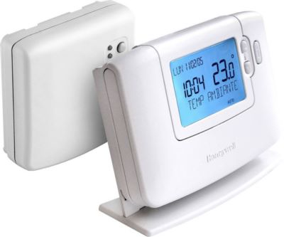 Photo de l'article HONEYWELL Thermostat d''ambiance programmable Sans-Fil  Journalier Chronotherm