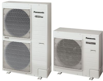 Photo de l'article PANASONIC Pompe à chaleur air/eau AQUAREA bi-bloc haute performance (bloquée en mode CHAUD)