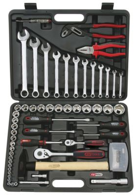 Photo de l'article KS TOOLS Coffret de douilles F6 1/4  - 1/2