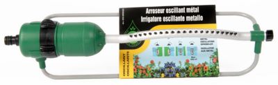 Photo de l'article QUINCAILLERIE DE LA GIRONDE Arroseur oscillant métal 21 buses