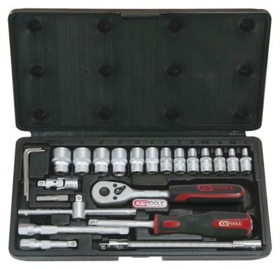 Photo de l'article KS TOOLS Coffret de douilles F6 1/4