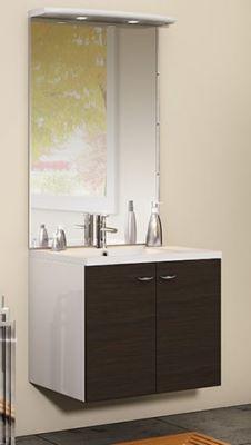 photo de larticle discac meuble sous vasque 2 portes 70 cm srie integrale - Meuble Vasque 70 Cm
