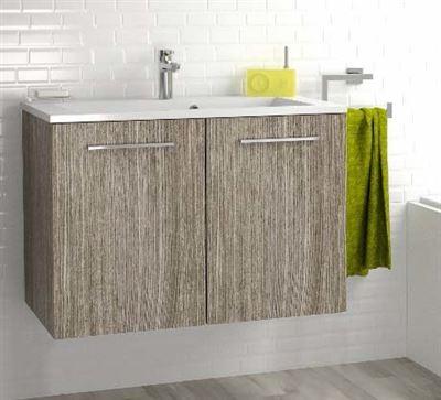 meuble sous vasque 2 portes 80 cm srie adesio 3. Black Bedroom Furniture Sets. Home Design Ideas