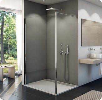 paroi de douche fixe fun2 verre paisseur 6 mm ronal. Black Bedroom Furniture Sets. Home Design Ideas