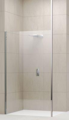 Profil de fixation au plafond pour verre 6 et 8 mm novellini for Paroi douche verre depoli