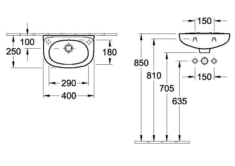 lave mains volta compact villeroy et boch. Black Bedroom Furniture Sets. Home Design Ideas