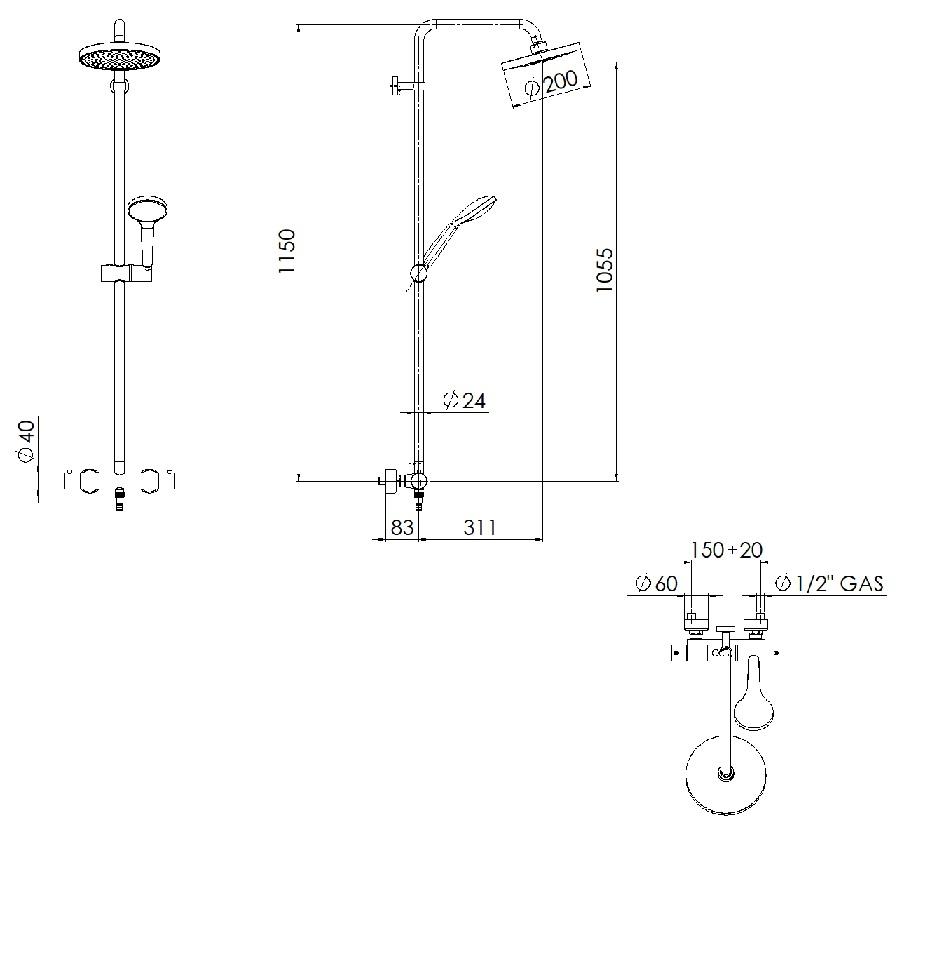 Installation colonne de douche hauteur - Installation colonne de douche hauteur ...